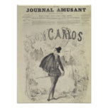 Página delantera de 'Le Journal Amusant' Poster