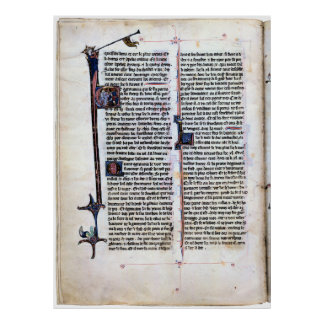 Página iluminada romance Arthurian Posters