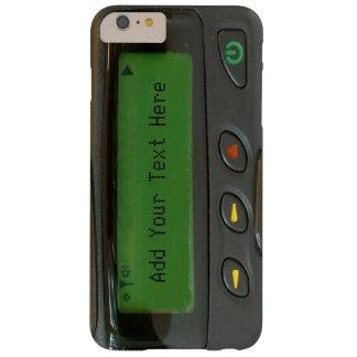 Paginador divertido personalizado de la escuela funda barely there iPhone 6 plus