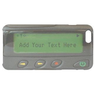 Paginador divertido personalizado de la escuela funda clearly™ deflector para iPhone 6 plus de unc