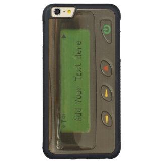 Paginador divertido personalizado de la escuela funda de arce bumper carved® para iPhone 6 plus