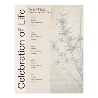 Páginas conmemorativas del llenador de la carpeta membretes personalizados