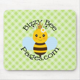 Páginas de la abeja de Bizzy Alfombrilla De Raton
