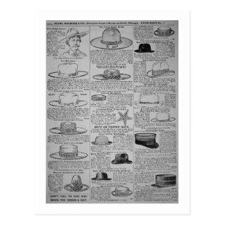 Páginas de Sears, Roebuck de Chicago, catálogo de Tarjeta Postal