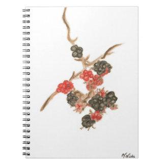 Páginas del cuaderno 80 de la foto del diseño de