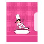 Páginas para las recetas - papel con membrete temá membretes personalizados