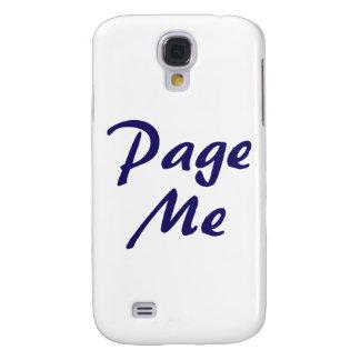 ¡Pagíneme, emítame un sonido breve y agudo! Carcasa Para Galaxy S4