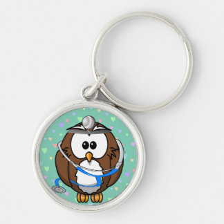 paging Doc Owl Keychain