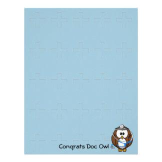 paging doc owl letterhead