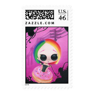 Paging Mr. Rainbow Postage Stamps