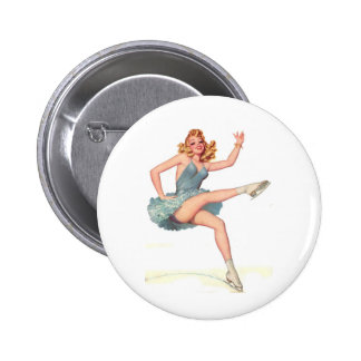 Paging the Iceman 2 Inch Round Button