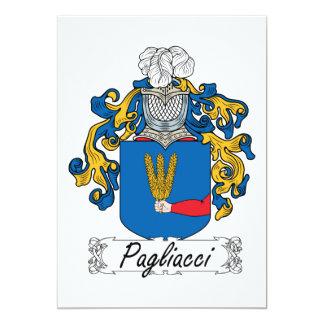 Pagliacci Family Crest Card