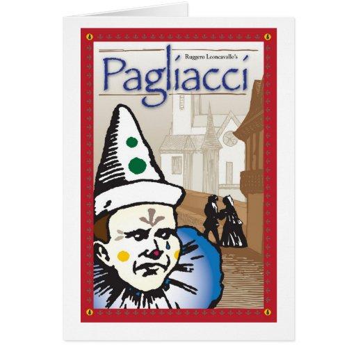 Pagliacci, Opera Card