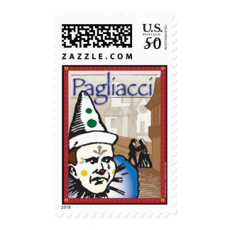 Pagliacci, Opera Postage