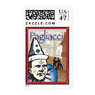 Pagliacci, ópera timbres postales