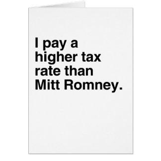 Pago a imposición fiscal más alta que Mitt Romney  Tarjeton