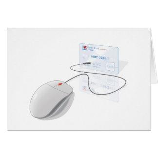 pago en línea tarjeta de felicitación