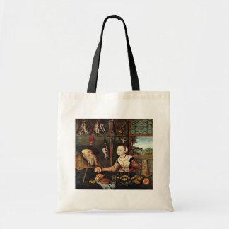Pago (los suegros) por Cranach D. Ä. Lucas (mejor Bolsas