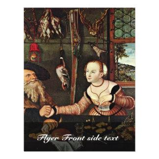 Pago (los suegros) por Cranach D. Ä. Lucas (mejor Flyer A Todo Color