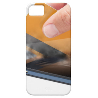 Pago móvil iPhone 5 Case-Mate protectores