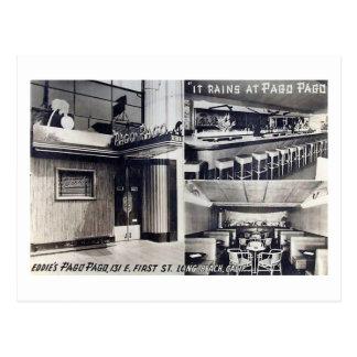 Pago Pago Restaurant, Long Beach, CA Vintage Postcard