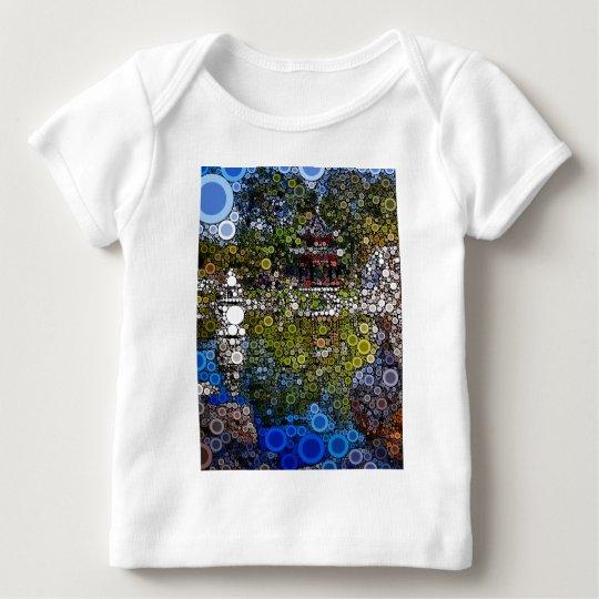 Pagoda1 Mosaic Baby T-Shirt