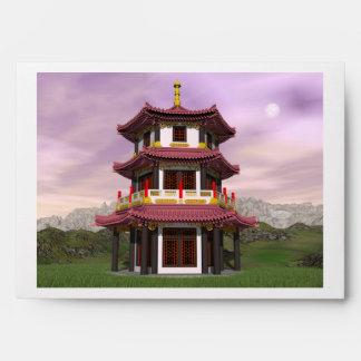 Pagoda - 3D render Envelope