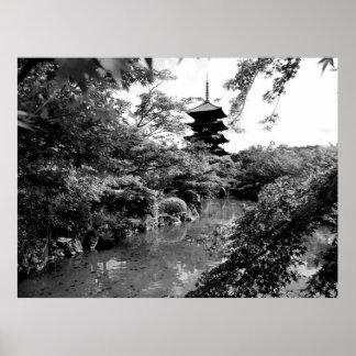 Pagoda at Toji Posters