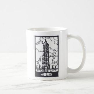 Pagoda china tazas de café