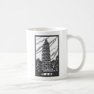 Pagoda china taza