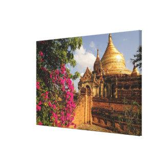 Pagoda de Dhamma Yazaka en Bagan (Pagan), Myanmar Impresiones En Lona Estiradas