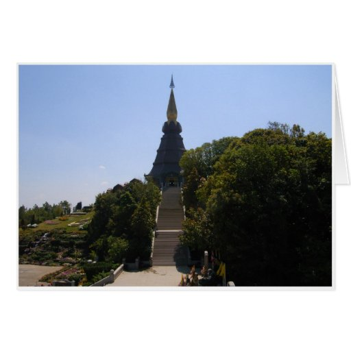 Pagoda de rey tarjetas