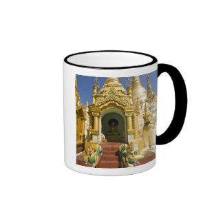 Pagoda de Shwedagon (Paya), sitio grande del templ Taza De Café