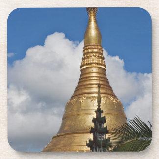 Pagoda de Shwedagon, Rangún, Myanmar Posavasos
