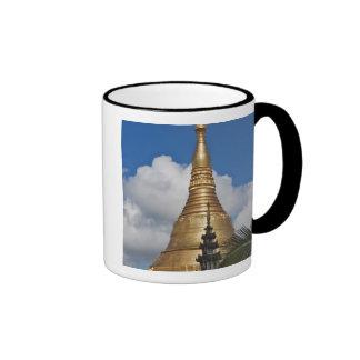Pagoda de Shwedagon, Rangún, Myanmar Tazas
