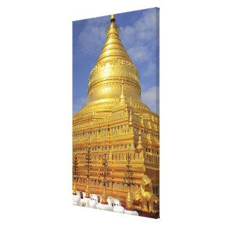 Pagoda de Shwezigon en Bagan, Bagan (Pagan), 2 Lona Envuelta Para Galerías