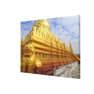 Pagoda de Shwezigon en Bagan, Bagan (Pagan), Lona Envuelta Para Galerias