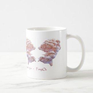 Pagoda fungus mug for mushroom lovers