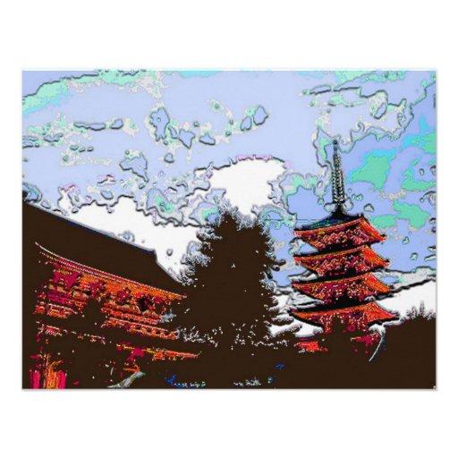 Pagoda japonesa comunicados