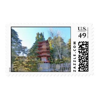 Pagoda Postage