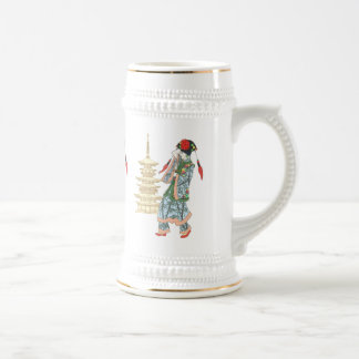 Pagoda Princess Beer Stein