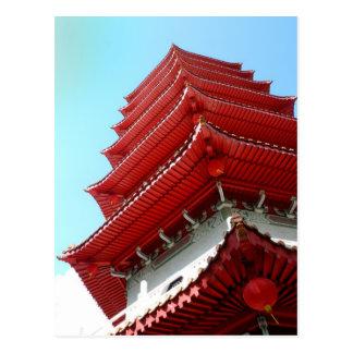 Pagoda - Singapore Chinese Garden - Postcard