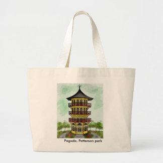 Pagoda, tote del parque de Patterson Bolsas