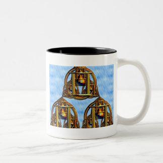 Pagodas místicas taza de café