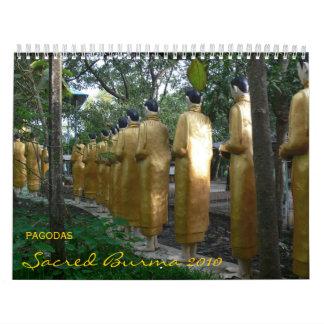 Pagodas: Sacred Burma 2010 Calendar