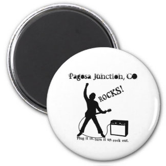 Pagosa Junction, CO 2 Inch Round Magnet