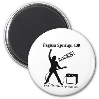Pagosa Springs, CO 2 Inch Round Magnet