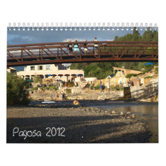 Pagosa Springs, Colorado Calendar