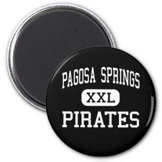 Pagosa Springs - Pirates - Junior - Pagosa Springs 2 Inch Round Magnet