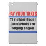 Pague sus impuestos. 11 illegals del millon confía
